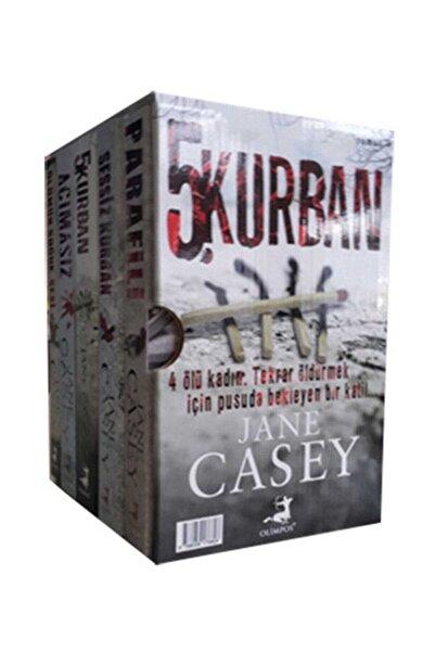 Olimpos Yayınları Jane Casey Seti 5 Kitap Takım Kutulu