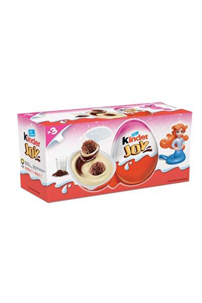 Kinder Joy T3 Sürpriz Yumurta 3 Lü Kızlara Özel 3 Adet Oyuncaklı Sürpriz Yumurta
