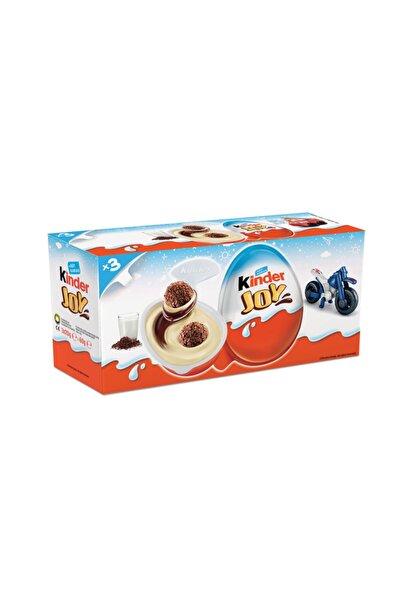 Kinder Joy T3 Erkeklere Özel Sürpriz Yumurta 60 gr Oyuncaklı Sürpriz Yumurta 3'lü Paket