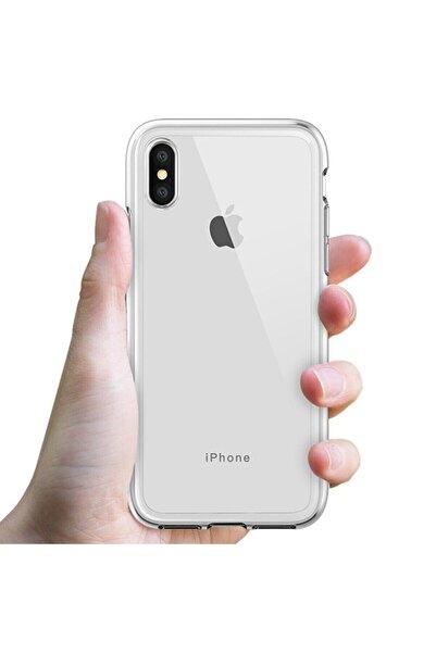 MY MÜRDÜM Iphone X Şeffaf Kılıf Kenarları Koruma Çizgili Sararma Yapmaz