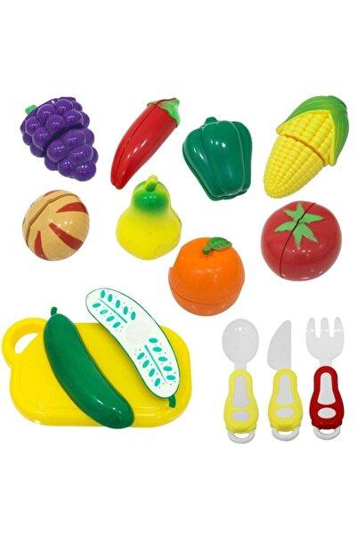BİRLİK TOYS Kutulu Meyve Ve Sebze Kesme Seti 22 Parça