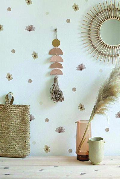 WALLHUMAN Sonbahar Çiçekleri Duvar Stickerı