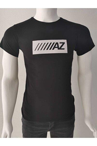 Ceo Erkek Siyah Basic T-shirt