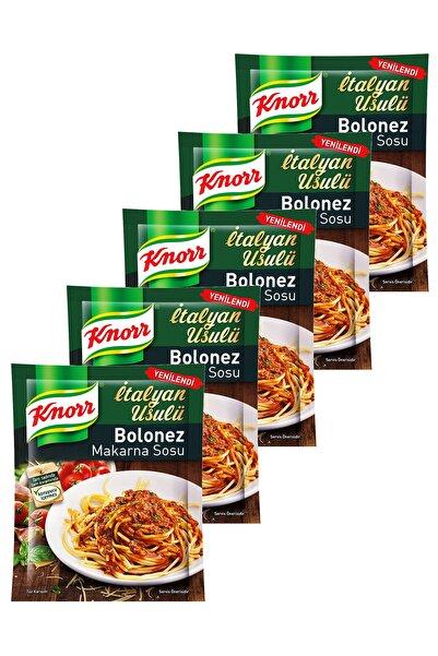 Knorr Bolonez Makarna Sosu 45 Gr. Beşli Set