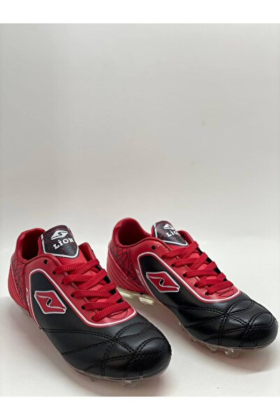 Lions Erkek Çocuk Kırmızı Halı Saha Ayakkabı