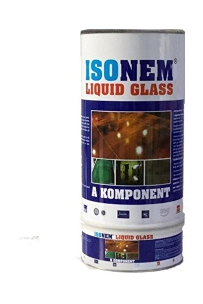 Isonem Liquid Glass (Sıvı Cam) Şeffaf Zemin Su Yalıtımı 4 Kg