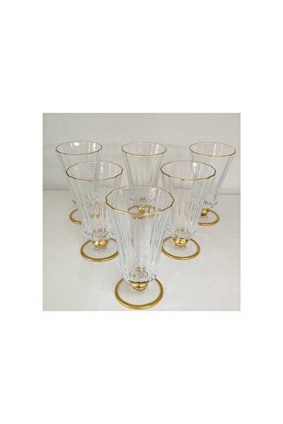 Paşabahçe 440186 Diamond Gold 6 Parça Bardak Seti Kahve Yanı Su Bardağı
