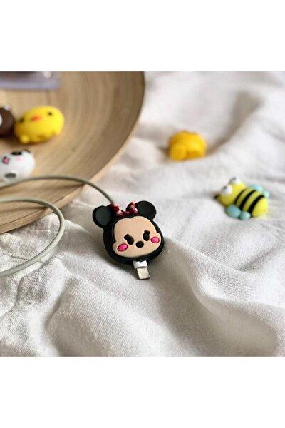 MY MÜRDÜM Sevimli Mickey Mouse Kurdeleli Kablo Koruyucu