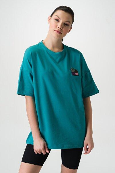 Runever Kadın T-shirt Şort Takım 22093