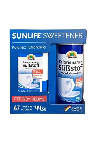 Sunlife Sweetener Tatlanıdırıcı + Hediyeli 1200+300 Tablet