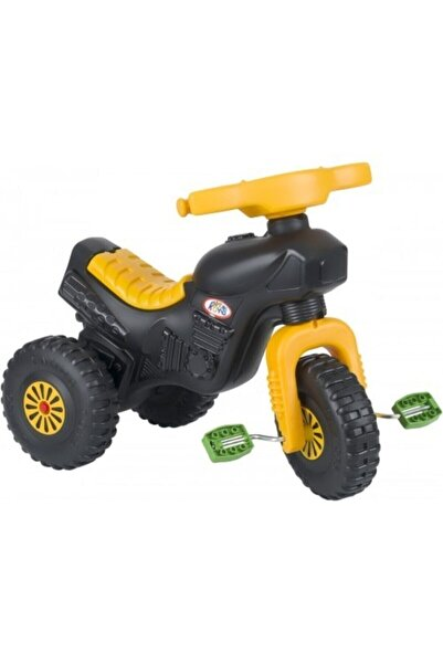 ENHOŞ OYUNCAK Enhoştoys 3 Tekerli Şahin Motor Çocuk Bisiklet Sarı
