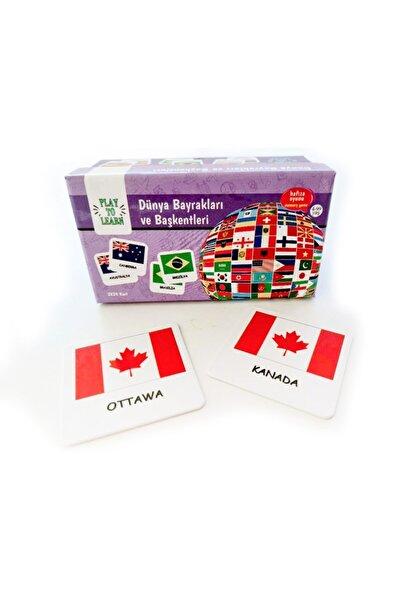 Play to Learn - Dünya Bayrakları  ve Başkentleri - Hafıza/Memory - Genel Kültür Oyunu