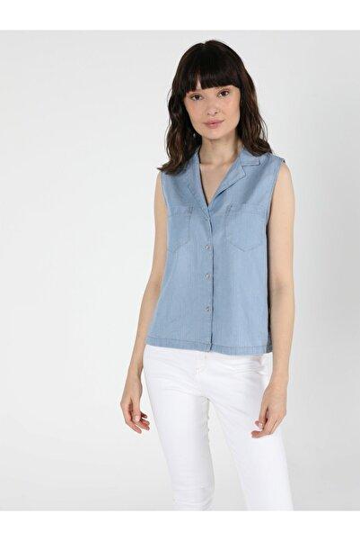 Colin's Regular Fit Klasik Kadın Kısa Kol Gömlek