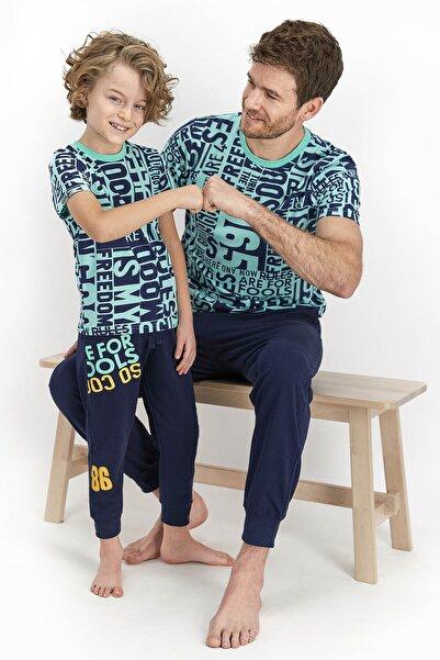 ROLY POLY Kısa Kol Uzun Pantolon Pijama Takımı (baba Oğul Kombin Yapılabilir Fiyatlar Ayrı Ayrıdır)