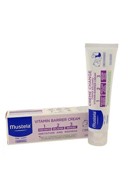Mustela Bebek  Pişik Önleyici Krem - Vitamin Barrier 1.2.3.cream100 Ml