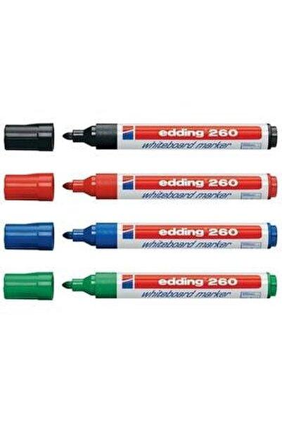 260 Beyaz Yazı Tahtası Kalemi 4'lü Set