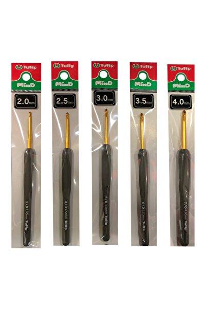 Tulip Mind Tığ Set No: 2mm- 2,5mm- 3mm- 3,5mm- 4mm ( 5 Adet )