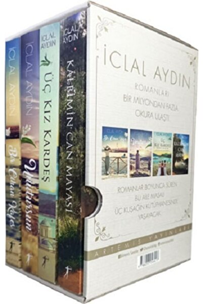 Artemis Yayınları Iclal Aydın Romanları - 4 Kitap Set