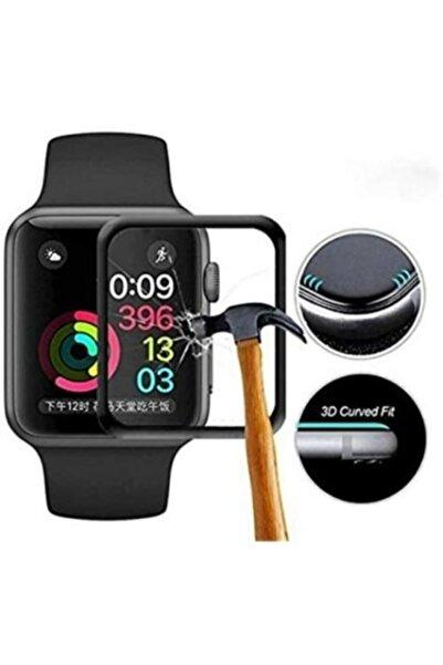 MAROX Apple Watch Series 44 Mm 3d Yapışkanlı Ekran Koruyucu Kırılmaz Cam Film