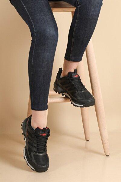 Lescon Kadın Siyah Trail Axis Spor Ayakkabı