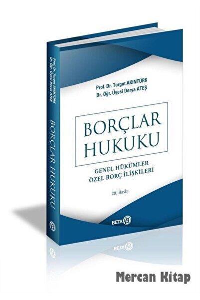 Beta Yayınları Borçlar Hukuku/genel Hükümler Özel Borç Ilişkileri