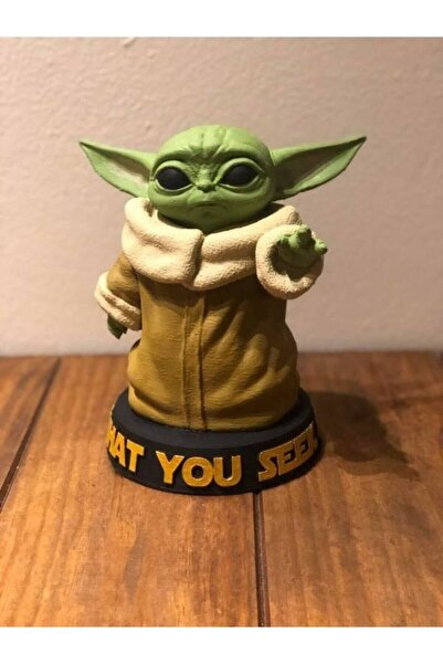 3D Ekspres Baby Yoda Figür