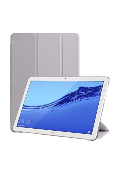 zore Huawei Media Pad T5 Stantlı Tam Koruma Smart Cover Tablet Kılıfı
