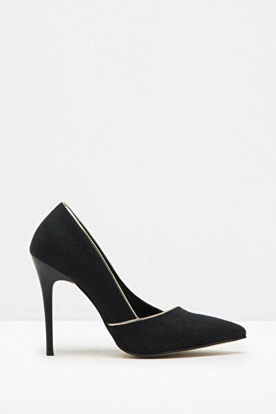 Koton Kadın Siyah Ayakkabı 7KAK20693DA