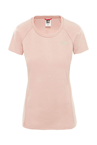 THE NORTH FACE Vısta Tek S/S Tee KadınT-Shirt Pembe