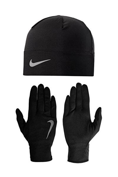 Nike Erkek Eldiven -  Mens Run Dry Koşu Eldiveni Bere Seti - NRC37-082
