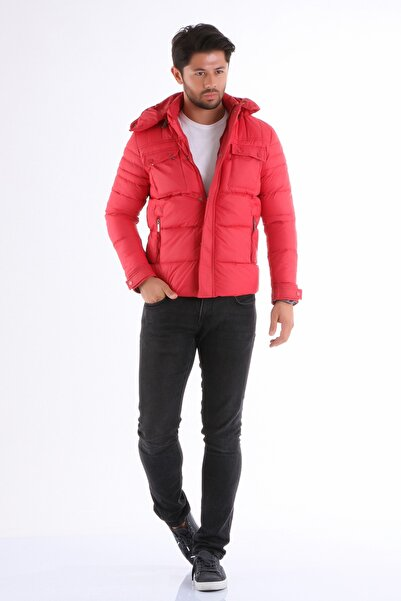 Phazz Brand Erkek Kırmızı Mont 1201