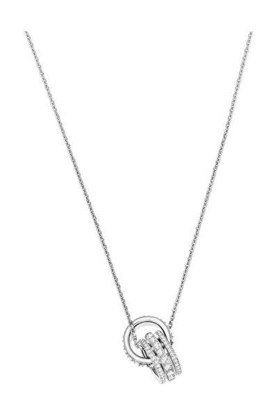 Swarovski Kadın Kolye Further:Pendant Double Czwh/Cry/Rhs 5409696