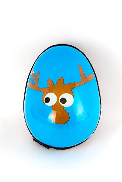 Egg Kids Evert - Mavı Unısex Bebek Unisex Çocuk Anaokulu Çantası