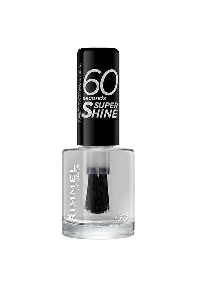 RIMMEL LONDON Oje - 60 Seconds Super Shine 740 Clear 3614220617183