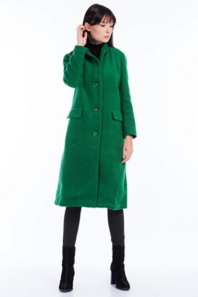 Koton Kadın Yeşil Kaban 8KAF00042GK