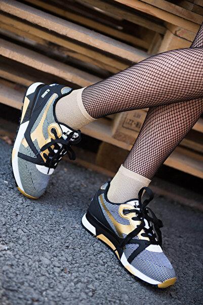 Diadora N9000 Arrowhead Siyah Kadın Günlük Ayakkabı - 171099-80013