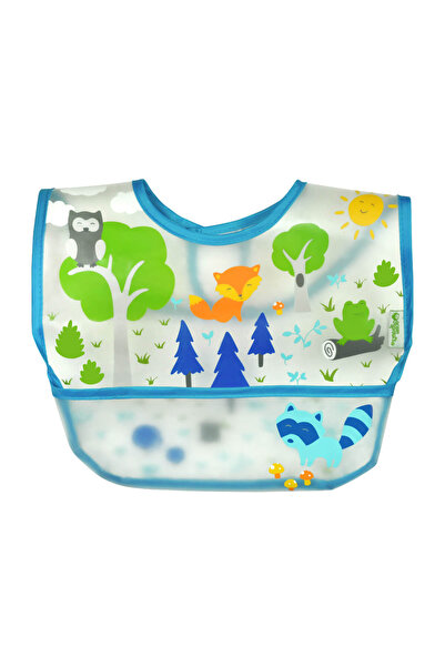 iplay Su Geçirmez Eva Kumaş Cırtlı Bebek Mama Önlüğü /