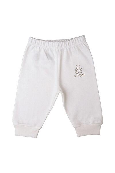 Baby Center Kiti Kate S77961 Organic Patiksiz Bebek Pantolonu