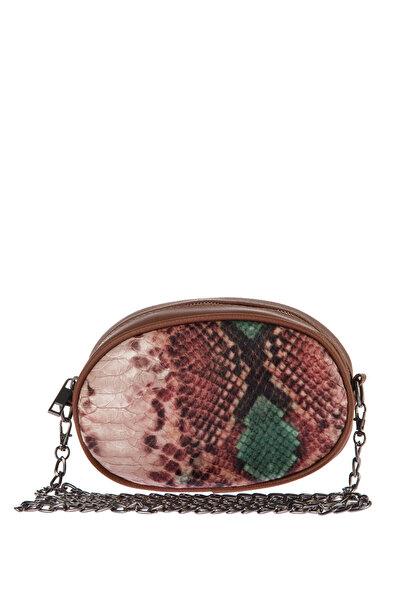 Housebags Bakır Yeşil Kadın Bel Çantası 143