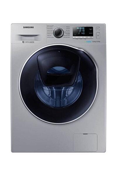 Samsung WD90K6B10OS AddWash 1400 Devir Gri 9 kg / 6 kg Kurutmalı Çamaşır Makinesi