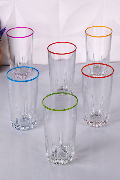 FUMO 6'lı Meşrubat Bardağı Seti FU-MSRT-ASORTI