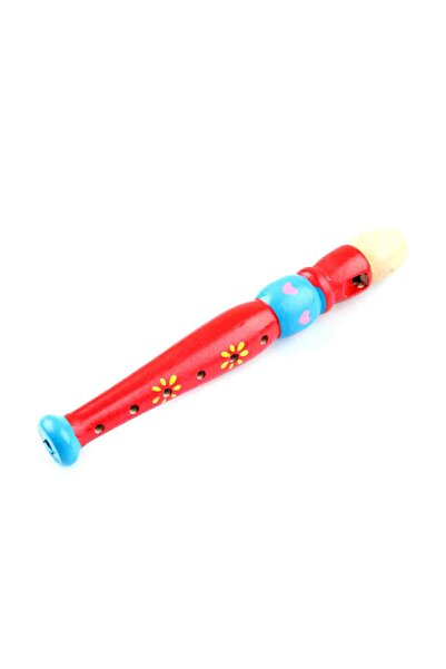 Learning Toys Ahşap Renkli Flüt /