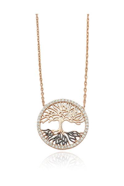 Glorria Kadın Gümüş Hayat Ağacı Kolye DT0453