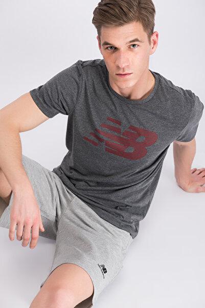 New Balance Erkek T-Shirt-J2621V-MTT612-CHC
