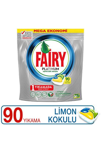 Fairy Platinum Bulaşık Makinesi Deterjanı Kapsülü Limon Kokulu 90 Yıkama