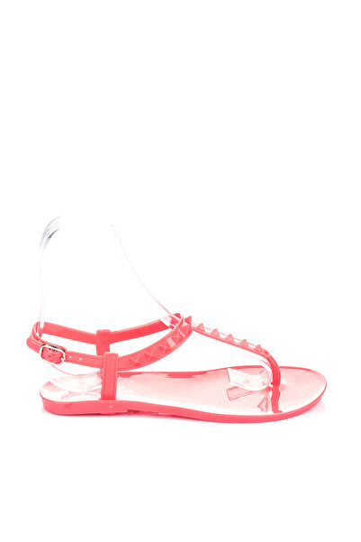 Pembe Potin Kadın Nar Sandalet A1600-17