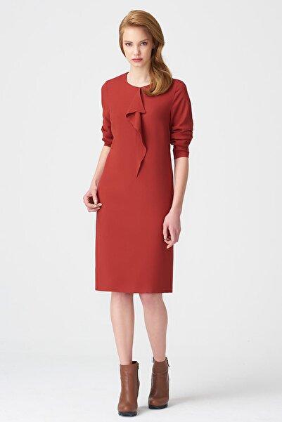 Naramaxx Kadın Kiremit Elbise 17K11112Y817