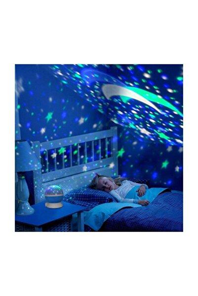 Skygo Dönen Star Master Renkli Yıldızlı Gökyüzü Projeksiyon Gece Lambası