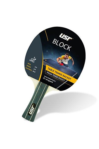 USR Block ITTF Onaylı Masa Tenisi Raketi