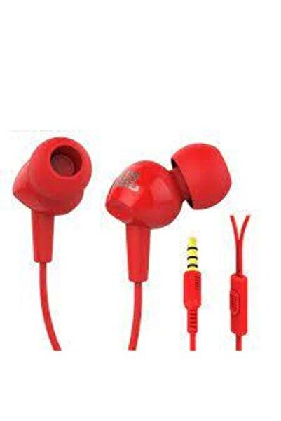 JBL C100sı Mikrofonlu Kulakiçi Kulaklık Kırmızı